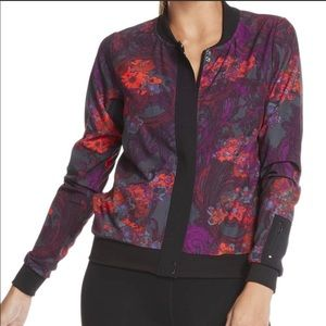 FABLETICS Ithaca Floral Bomber Jacket